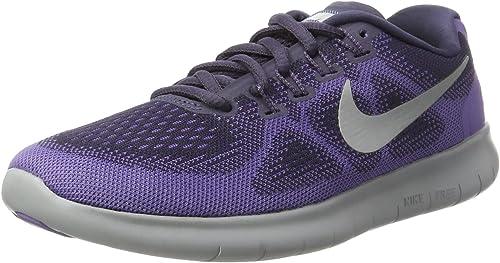 Nike Free Run 2017, Zapatillas de Entrenamiento para Mujer, Morado ...