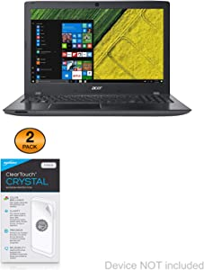 Acer Aspire E15 (15.6 in) Screen Protector, BoxWave [ClearTouch Crystal (2-Pack)] HD Film Skin - Shields from Scratches for Acer Aspire E15 (15.6 in)