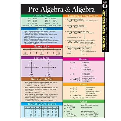 Carson-Dellosa Instructional Fair Pre-Algebra and Algebra Learning Cards (074240742X): Instructional Fair: Toys & Games