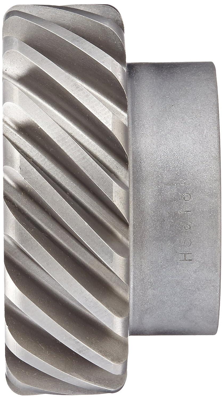 18 Teeth Boston Gear HS618R Plain Helical Gear 45 Degree Helix 14.5 Degree Pressure Angle RH 6 Pitch 1.250 Bore Steel