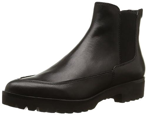 Geox D Jewel G - Botas de Piel para Mujer Negro Negro 35: Amazon.es: Zapatos y complementos