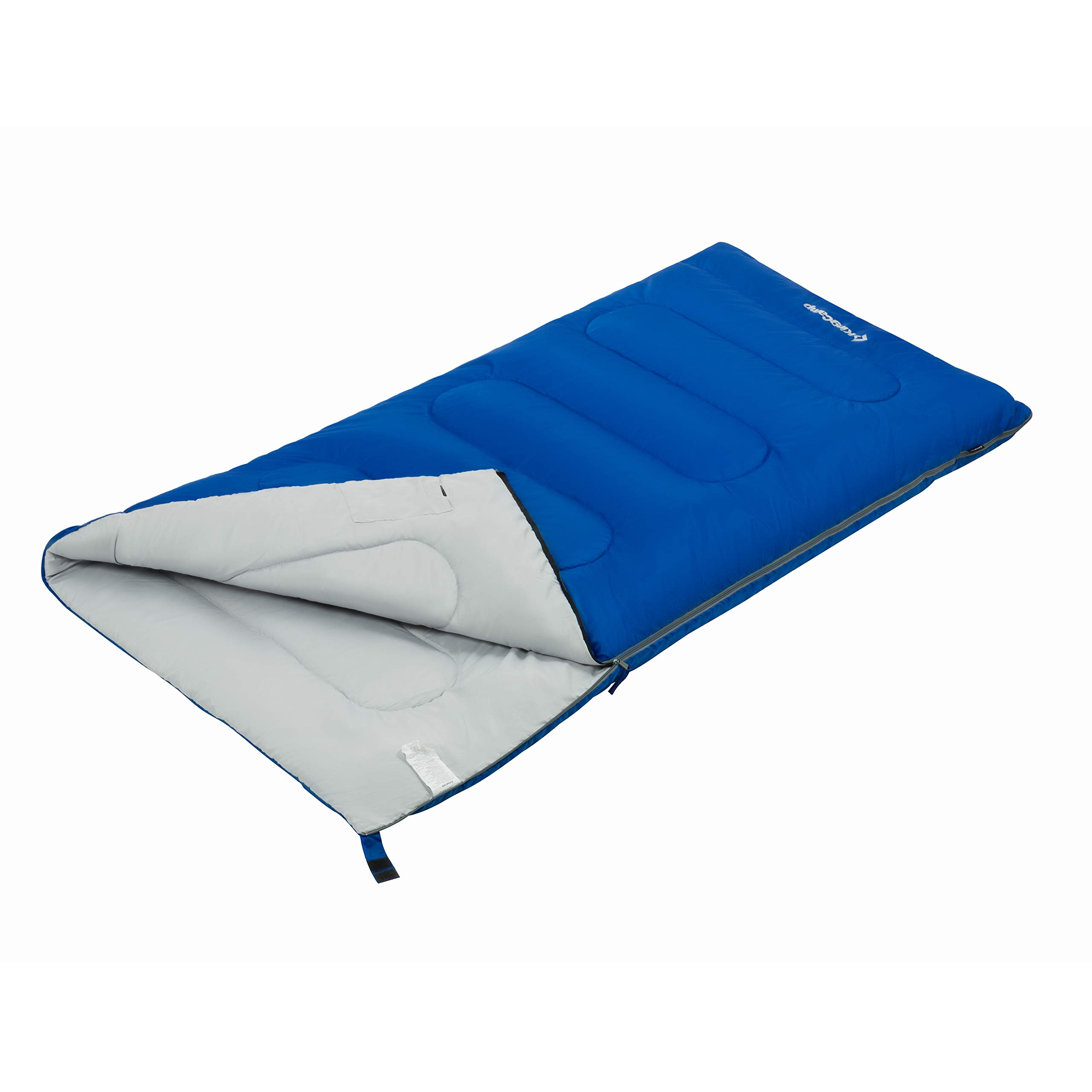 KingCamp XL Oversize Extreme Wide Envelope Adult Sleeping Bag 10.4 F/-12C For Camping Hiking