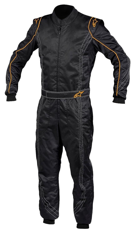 Alpinestars 2014 KMX 9 kart Suit SFI 40.1 (サイズ40、ブラック/オレンジトリム) B01MRVCIIX