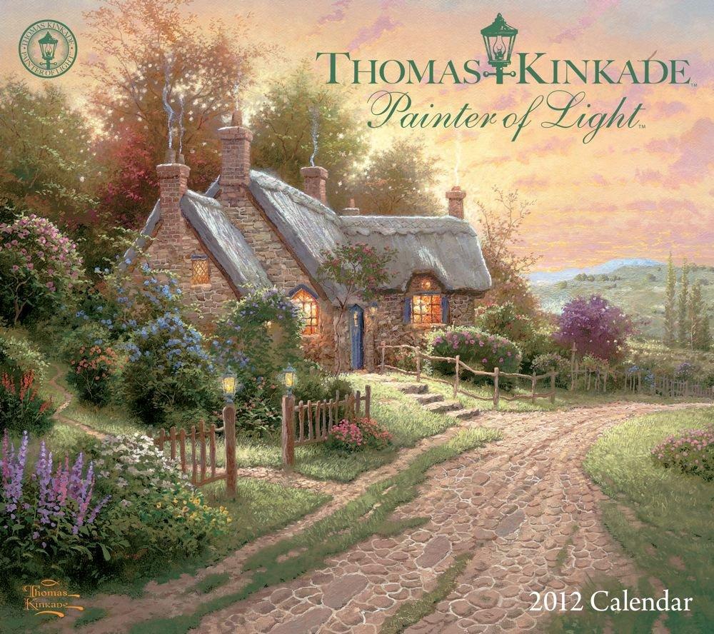 Thomas Kinkade Painter Slimline Calendar