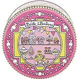 Derrière La Porte DLP : Boîte Ronde de Rangement à Bonbons - Si Bons - En Métal Embossé - Valérie Nylin