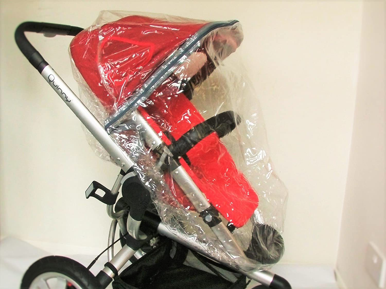 Universal con cremallera cubierta de lluvia para carrito de bebé QUINNY Buzz: Amazon.es: Bebé