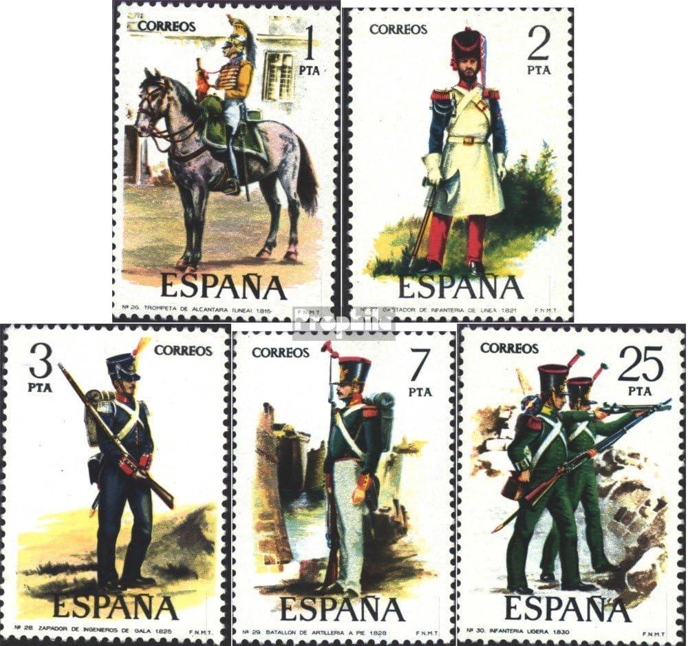 Prophila Collection España 2243-2247 (Completa.edición.) 1976 Uniformes Militares (Sellos para los coleccionistas) Militar: Amazon.es: Juguetes y juegos