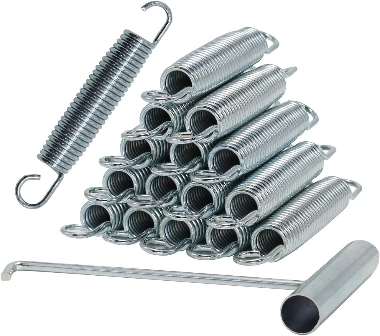 5.5 Inch Trampoline Springs Heavy Duty Stainless Steel ReplacementSprings, Set of 16