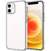 JETech Funda Compatible iPhone 12/12 Pro 6,1 Pulgadas, Carcasa Anti-Choques y Anti- Arañazos, HD Clara