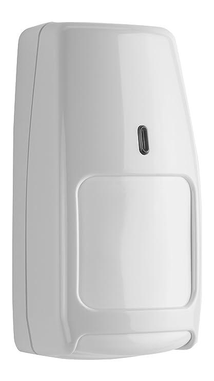 Honeywell Irpi8Ezs Detector de Movimiento Inalámbrico, Color Blanco