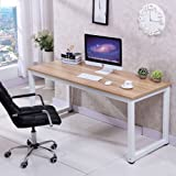 Love+Grace Computer Desk PC Laptop Table Wood Work-Station Study Home Office Furniture, White
