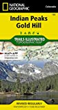 Indian Peaks, Gold Hill (National Geographic Trails Illustrated Map) (National Geographic Trails Illustrated Map (102))