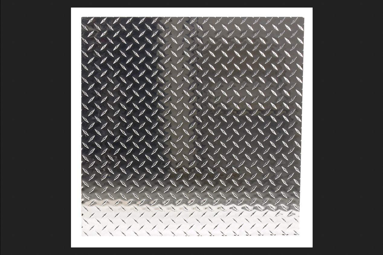 Aluminum Tread Plate, 24 x 24 x .n. - Quantity 1