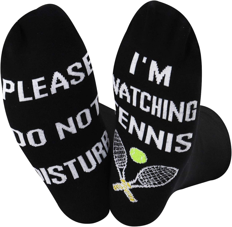 Tennis Player Sports Lover Groomsmen Wedding Gift Socks Ping Pong Fan Present 2 Pairs of Socks for Men Tennis Table Tennis Socks for Him