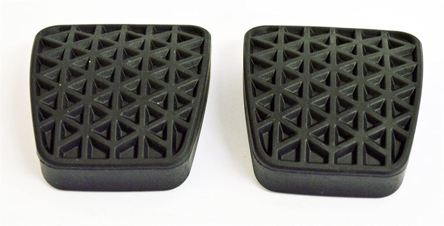 90498309 : 2 x GENUINE BRAKE/CLUTCH RUBBER PEDAL PADS/COVERS (1 PAIR) - NEW from LSC Genuine Vauxhall