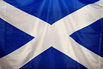St Andrews Cross Scotland A5 3 X 2 3ft X 2ft Flag With Eyelets