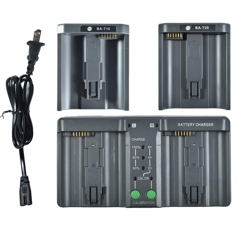 DSTE Replacement for MH26A 3-in-one Power Battery Charger Compatible Nikon EN-EL18 EN-EL4 Compatible Canon LP-E4 LP-E4N LP-E19 Battery as MH-26