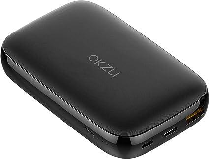 OKZU 10000mAh USB C Power Bank, QC 3.0 Power Delivery Portable ...