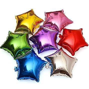 Amazon.com: Suppliesed 5 piezas 18 pulgadas estrella lámina ...