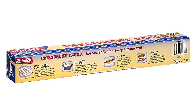 Amazon.com: Propack Non Stick Parchment Baking Paper 15x50 Pack Of 1 ...