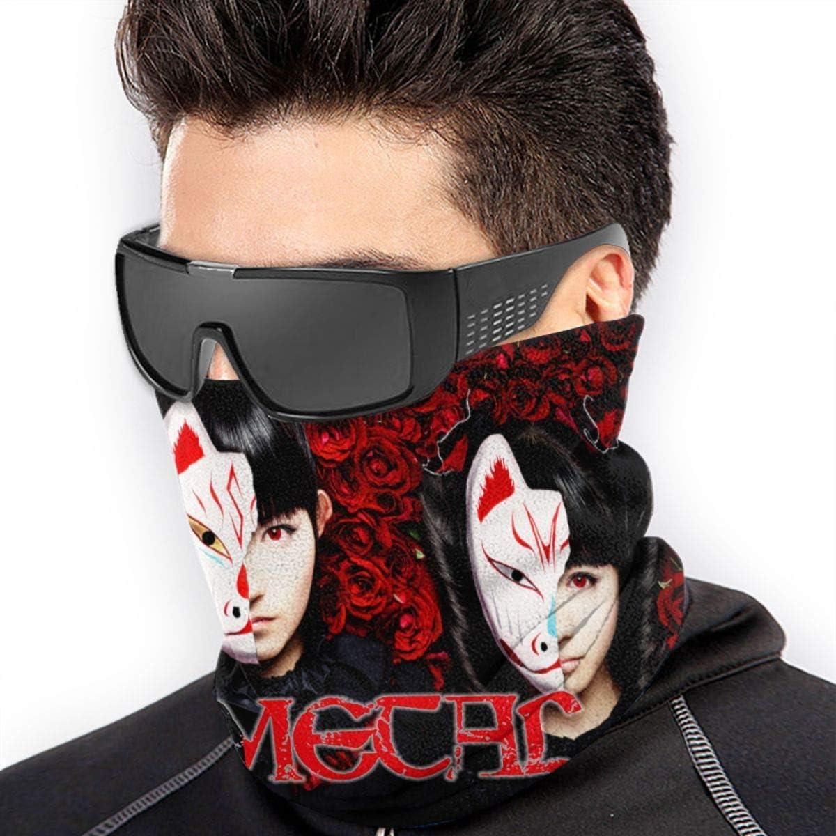 BabyMetal Winter Neck Warmer Unisex Thermal Fleece Neck Gaiter Face Mask For Cold Weather
