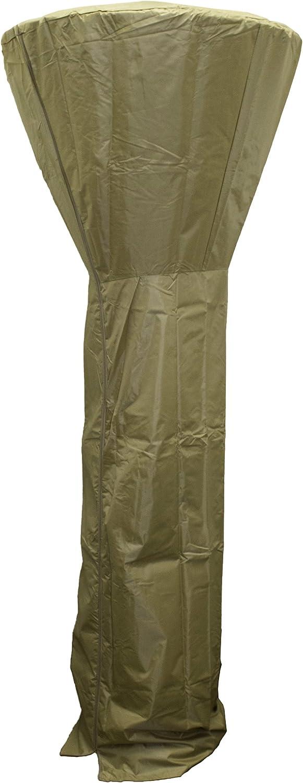 Hiland HVD-CVR-T Tall Patio Heater Cover, 87 Inches, Tan