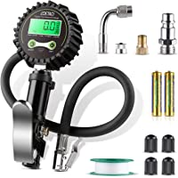 $25 » LOETAD Digital Tire Inflator with Pressure Gauge 200PSI Tire Pressure Gauge Inflator Deflator…