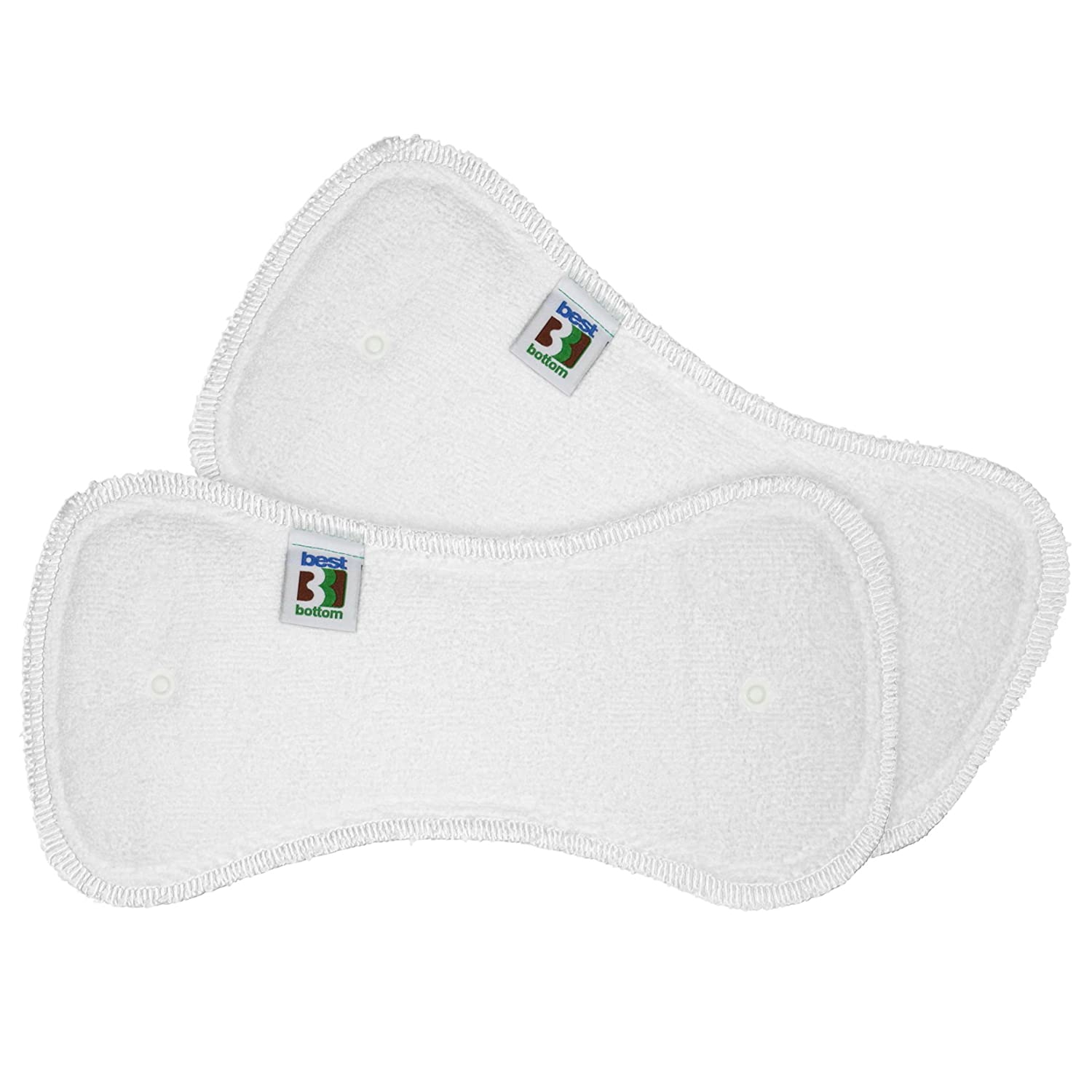 2 Count Large Best Bottom Stay Dry Overnight Inserts