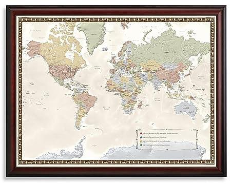World travel map amazon kitchen home world travel map gumiabroncs Images