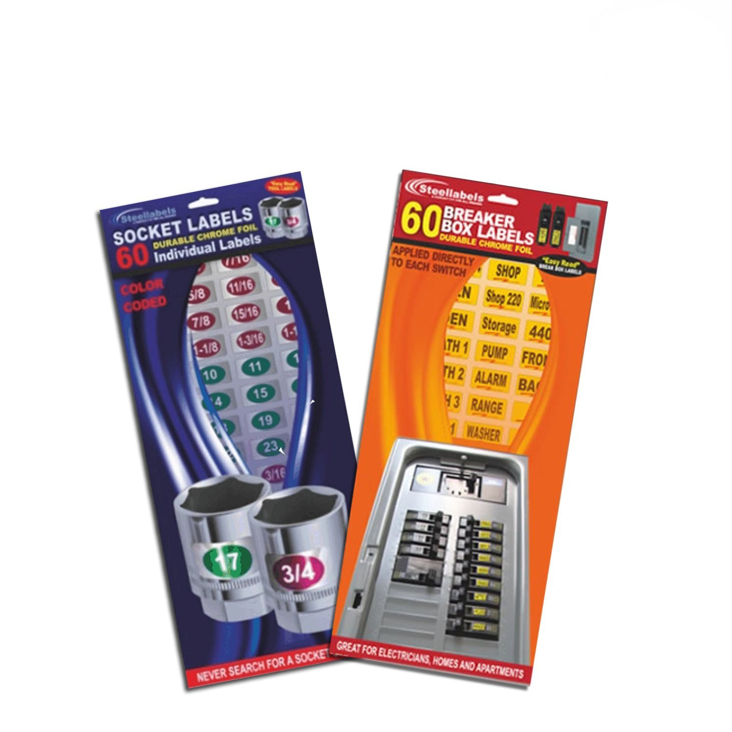 Breaker Box Decals Plus Socket Label Combo Tough Vinyl Labels For Circuit Guides Kit Get 149 Identifier A Breakers And Chrome Foil Your Tools Great Home Owners