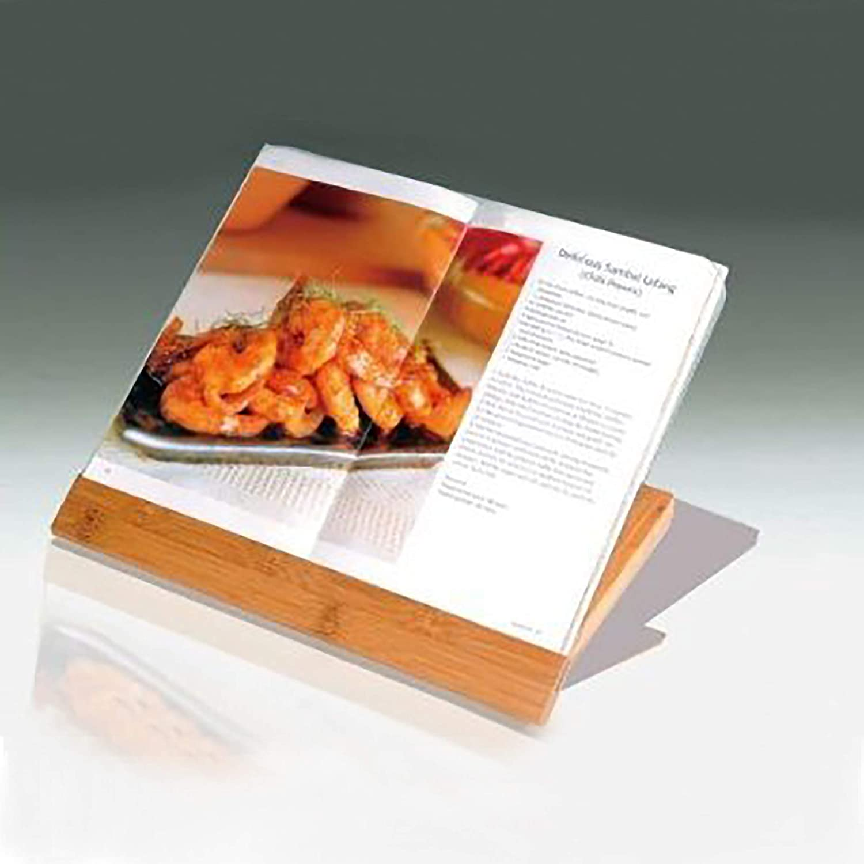 Natural Finish 73390 Creative Home Exotic Natural Bamboo Cookbook Holder