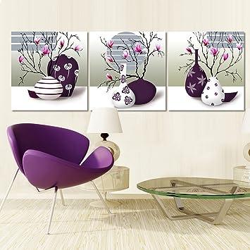 Max Home@ Moderne Einfache Dreifach Wandmalerei Sofa Hintergrund Malerei  Europäischen Stil Schlafzimmer Rahmenlose Wand Gemälde