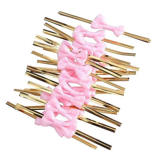 SUPVOX 20 piezas de lazos de la corbata de lazo para los ...
