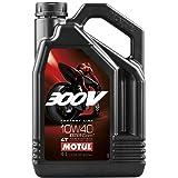 Motul 300V Ester Synthetic Oil - 10W40 - 4 Liter/--