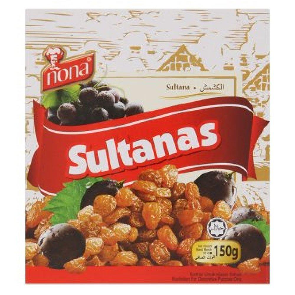 Nona Sultanas 150g (628MART) (1 Pack)