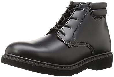 c2084f40697e Rocky Men s Dress Leather Chukka Black Boot ...