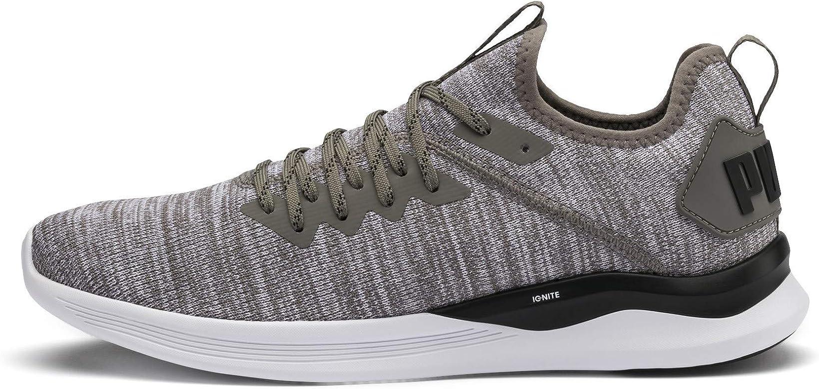Puma Ignite Flash Evoknit, Zapatillas de Running para Hombre, Gris (Steel Gray Black 18), 40.5 EU: Amazon.es: Zapatos y complementos