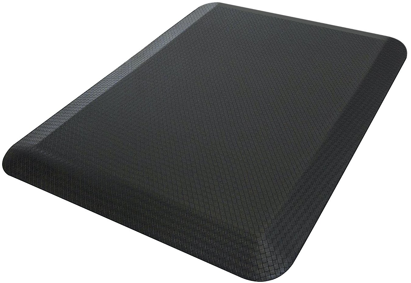 Sorbus Anti Fatigue Mat - Comfort Standing Mat Kitchen Rug - Perfect for Kitchen and Standing Office Desk (24 in x 18 in, Black) MAT-STNDGL-BLKA