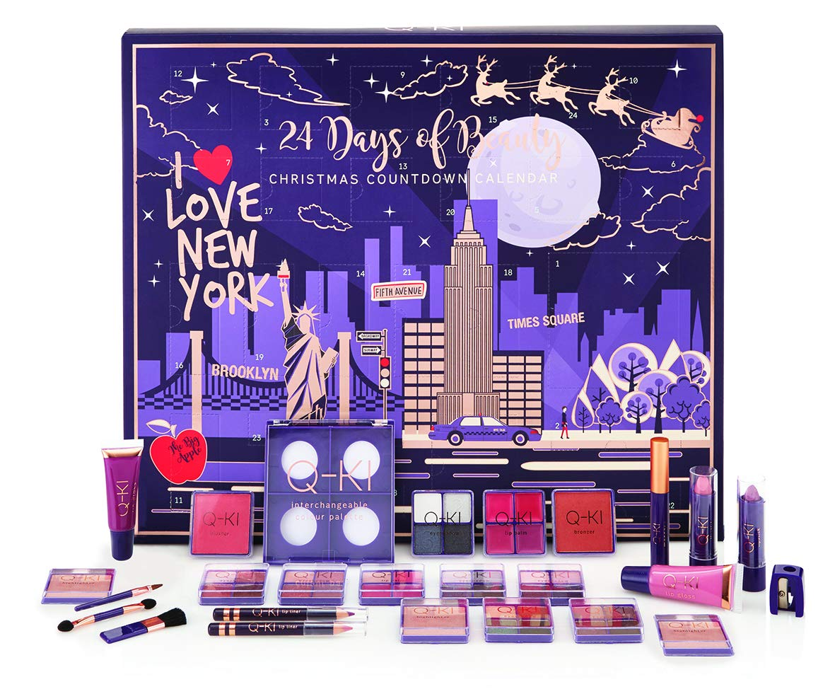 Q-Ki 24 Days Of Beauty Christmas Advent Calendar (New York)