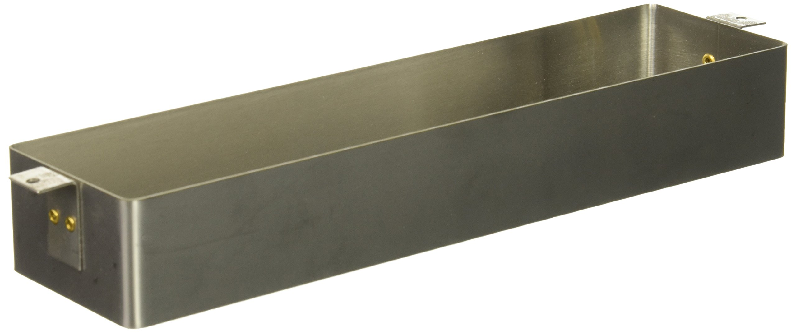 Baldwin 0052.324 Package Size Letter Box Sleeve, Satin Stainless Steel