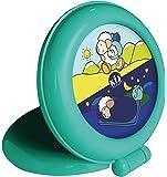 Claessens' Kids KSGTN Kid'Sleep Globetrotter-Nachtlicht /Aufsteh-Anzeiger, grün