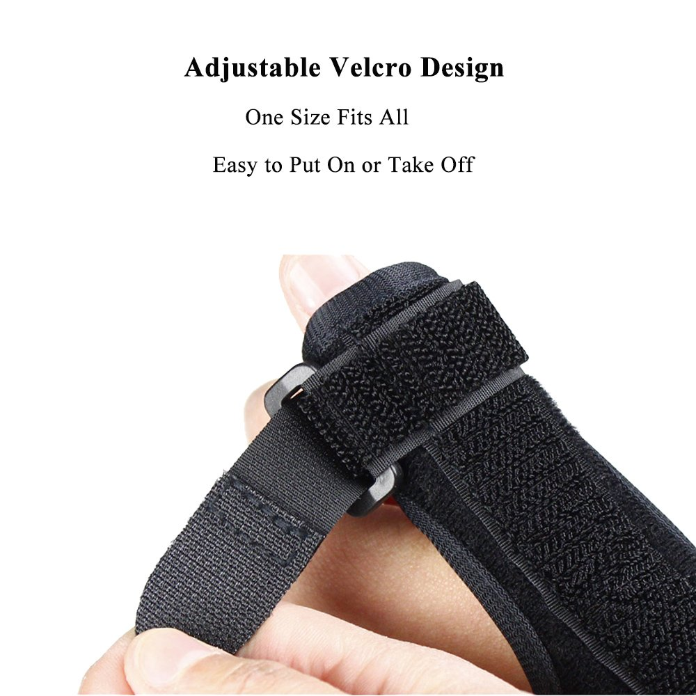 Thumb Splint Kitchenhoney Breathable Finger Spica Wrist Support Brace for De Quervains Tenosynovitis, Arthritis, Tendonitis, Trigger Thumb Immobilizer Fits Men Women Left and Right Hand by kitchenhoney (Image #5)