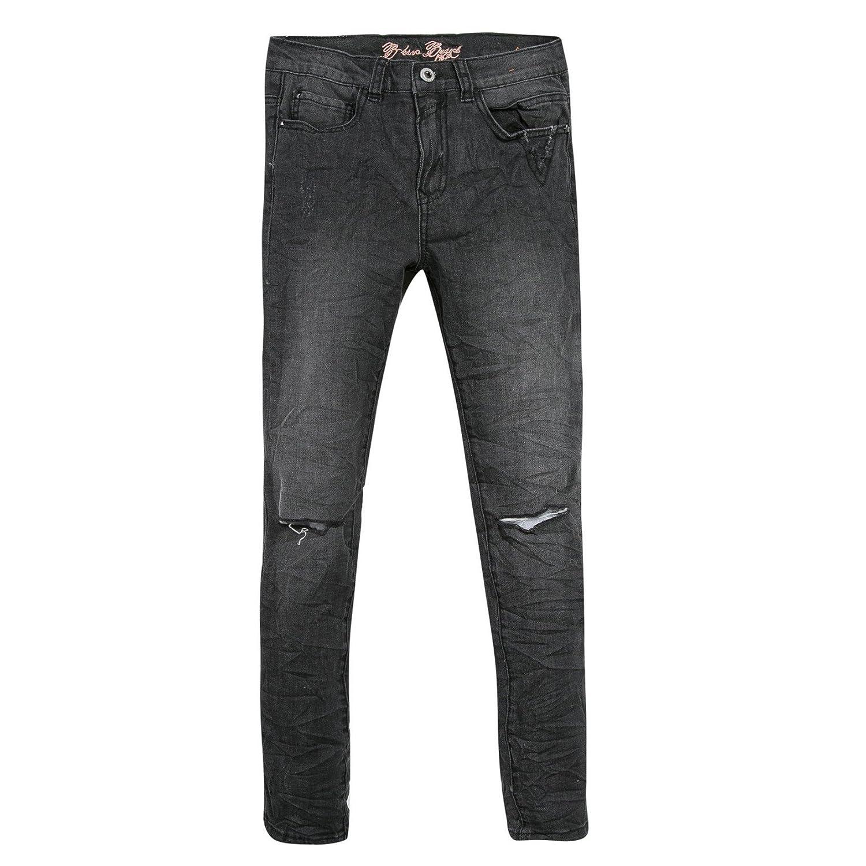 B-KARO Noir Peche, Jeans Fille