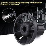 Black Plastic Blowing Nuts Rotary Dust Blower Fan