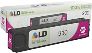 LD Remanufactured Ink Cartridge Replacement for HP D8J08A HP 980 ( Magenta , 1 pk )