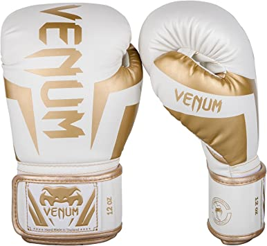 Oferta amazon: Venum Elite - Guantes de Boxeo Talla 14 oz