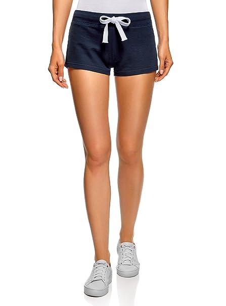 oodji Ultra Damen Jersey-Shorts Basic (5er-Pack)  Amazon.de  Bekleidung d9423e93a8