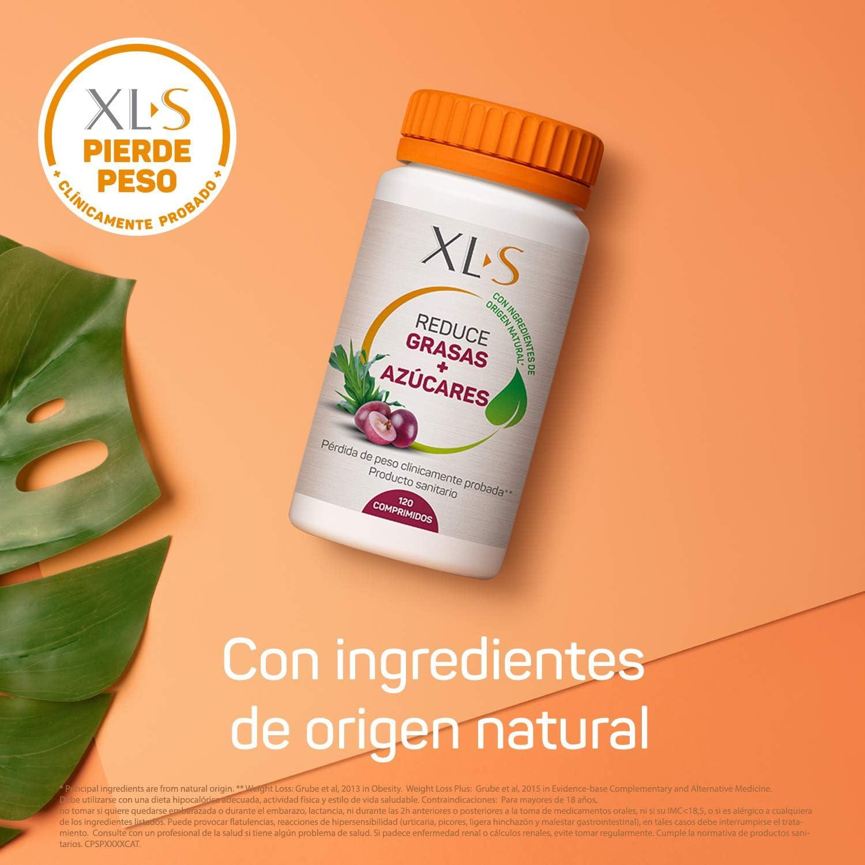 120 comprimidos reduce grasas + azúcares XLS por sólo 9,90€ ¡¡34% de descuento!!