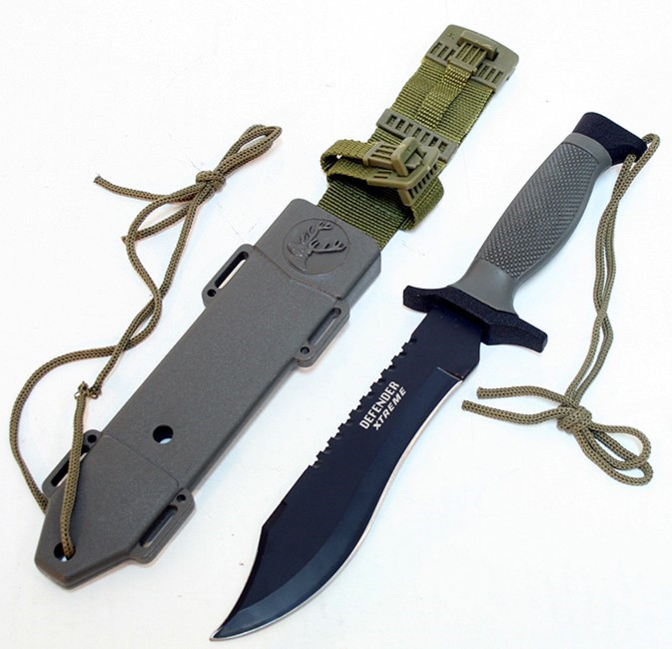 "12"" SURVIVAL BOWIE HUNTING KNIFE"