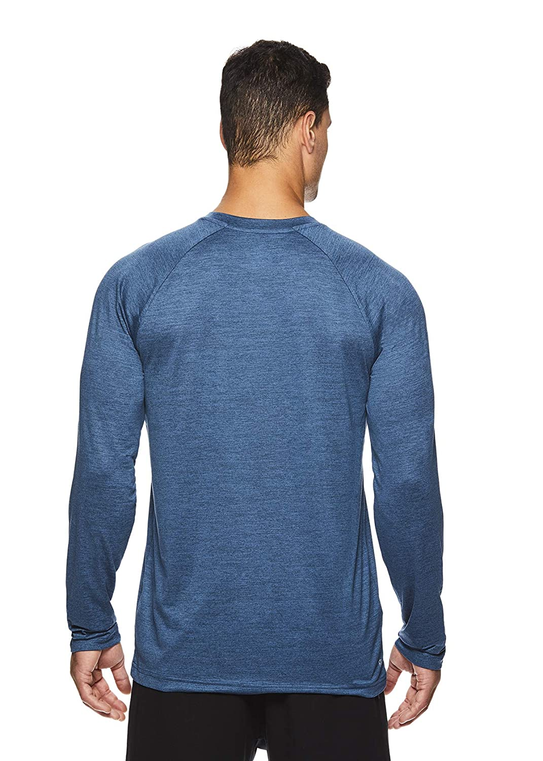 163ffeda2621 Amazon.com: Gaiam Men's Long Sleeve Relaxed Fit T Shirt - Yoga & Workout  Activewear Top: Clothing